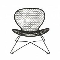 Foto van Quadro fauteuil zwart
