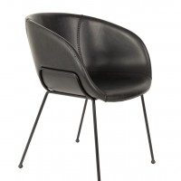 Feston armchair black - set van 2