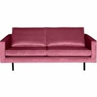 Foto van Rodeo velvet 2,5 zits - pink
