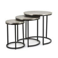 Coffee table (set van 3) Trapeze