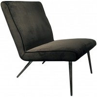 Foto van Lounge chair Treasure Dark grey ML