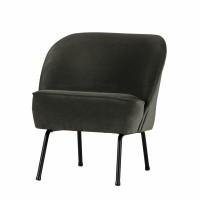 Foto van Voque fauteuil fluweel onyx