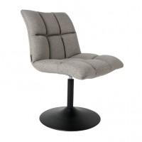 Foto van Mini Bar chair lichtgrijs 2 stuks
