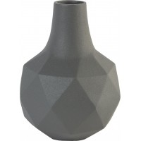 Vase bloom grey