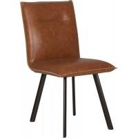 Foto van Montana side chair cognac - set van 2