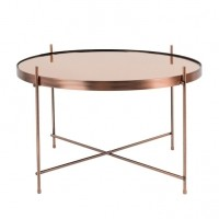 Foto van Side table cupid copper L
