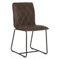 Foto van Mersey chair brown set van 2