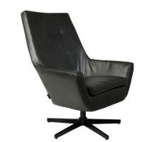 Foto van Don lounge chair zwart
