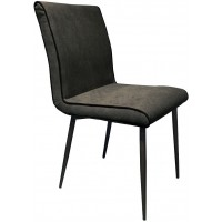Foto van Side chair Treasure Dark grey (set van 2) ML