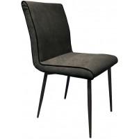 Foto van Side chair Treasure Dark grey 2 st.