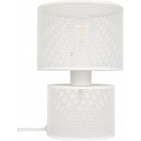 Table lamp grid white