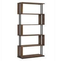 Foto van Bookrack, 5 open shelves