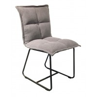 Foto van Side chair Cloud cotton grey (set van 2) ML