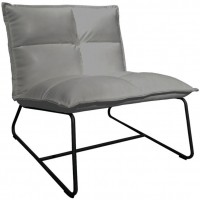 Foto van Lounge chair Cloud XL grey ML