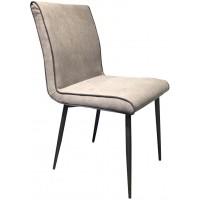 Foto van Side chair Treasure slate grey 2 st.