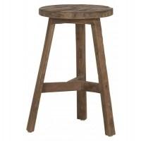 Foto van Round stool pol, natural