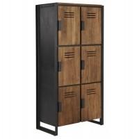 Foto van Locker medium, 6 doors
