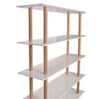 Boekenkast, High on wood