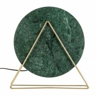 Foto van Louis table lamp marble green