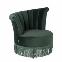 Foto van Flair lounge chair dark green