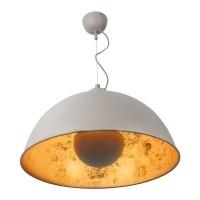 Foto van Copper sun hanglamp grijs