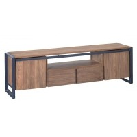 Foto van Tv stand, 2 doors, 2 drawers, open rack