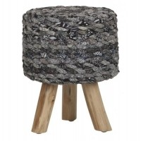 Foto van Stool earl grey small