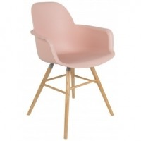 Foto van Albert kuip arm chair old pink 2 st.