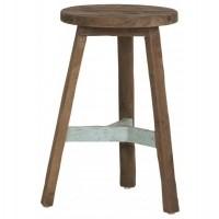 Foto van Round stool pol, blue