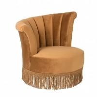 Foto van Flair lounge chair golden brown