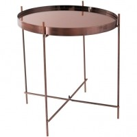 Foto van Side table cupid copper