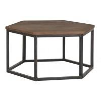 Foto van Coffee table hexagon medium