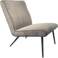 Foto van Lounge chair Treasure slate grey ML