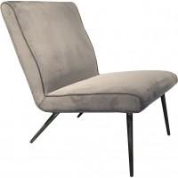 Foto van Lounge chair Treasure slate grey