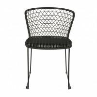 Foto van Quadro stoel zwart set van 2