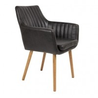 Armchair Pike Black