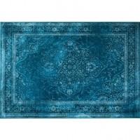 Foto van Rugged carpet blauw 170 x 240 cm