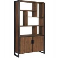 Foto van Bookcase, 2 doors, 7 open racks