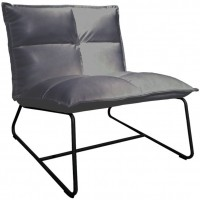 Foto van Lounge chair Cloud XL charcoal