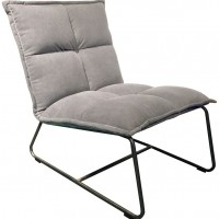 Foto van Lounge chair Cloud grey ML