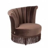 Foto van Flair lounge chair dark brown