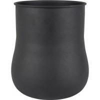 Vase blob xl black