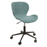Foto van Office chair OMG blue