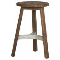 Foto van Round stool pol, green