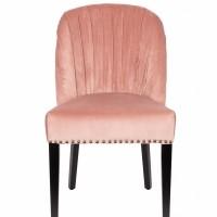 Foto van Cassidy chair pink clay - set van 2