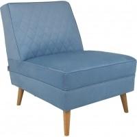 Foto van Lounge chair lazy m sky blue