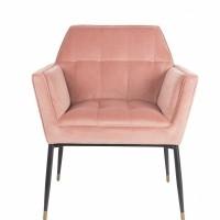 Foto van Kate armchair pink clay