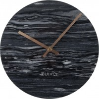 Foto van Clock marble time grey