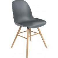 Foto van Albert kuip chair dark grey 2 st.