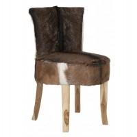 Foto van Lounge chair gunter, goat skin